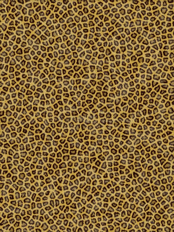 Teste padrão do leopardo ilustração royalty free
