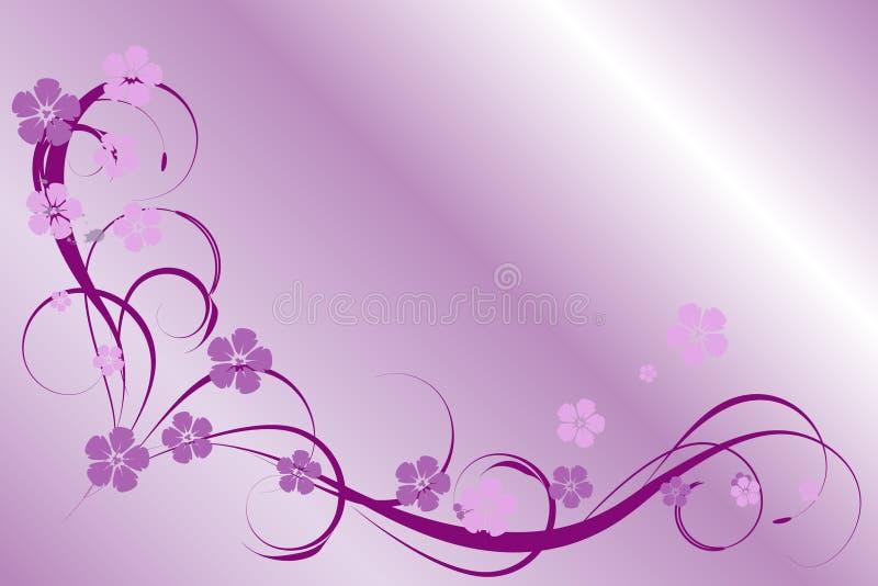 Teste padrão do Lilac ilustração stock