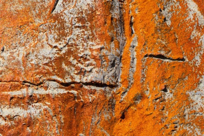 Teste padrão do metal oxidado velho imagens de stock