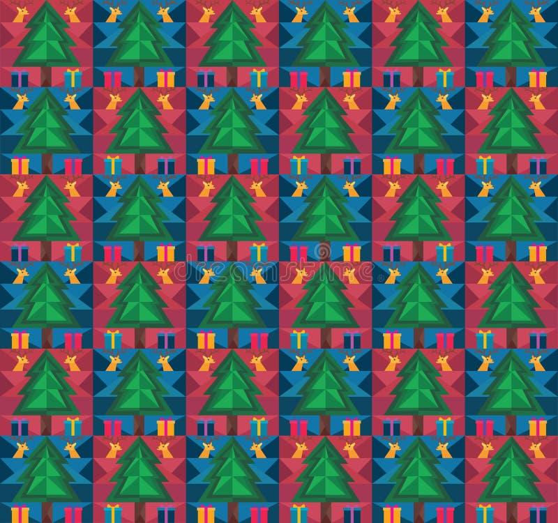 Teste padrão do Natal fotos de stock