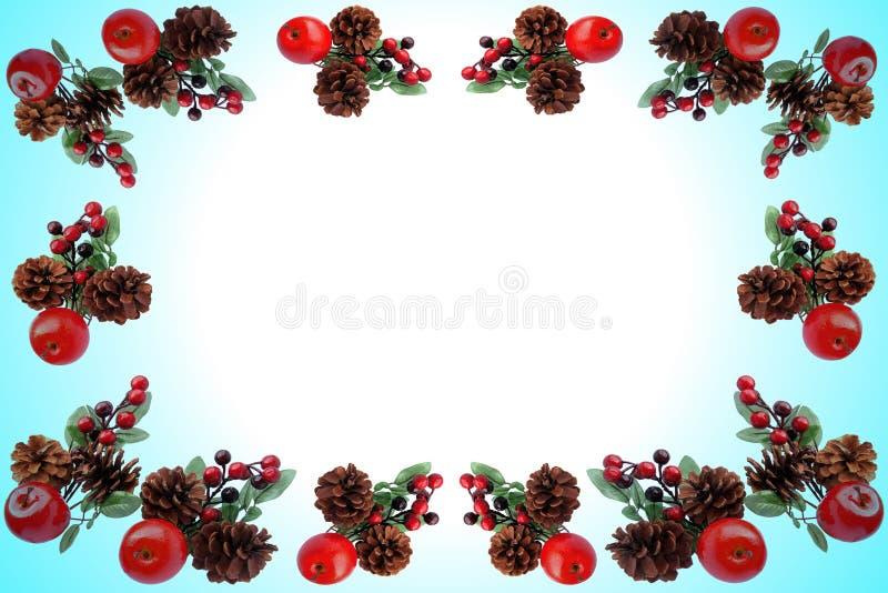 Teste padrão do Natal para o cartão de cumprimentos fotos de stock royalty free