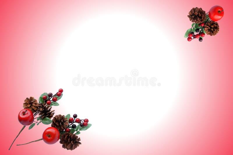 Teste padrão do Natal para o cartão de cumprimentos imagem de stock royalty free