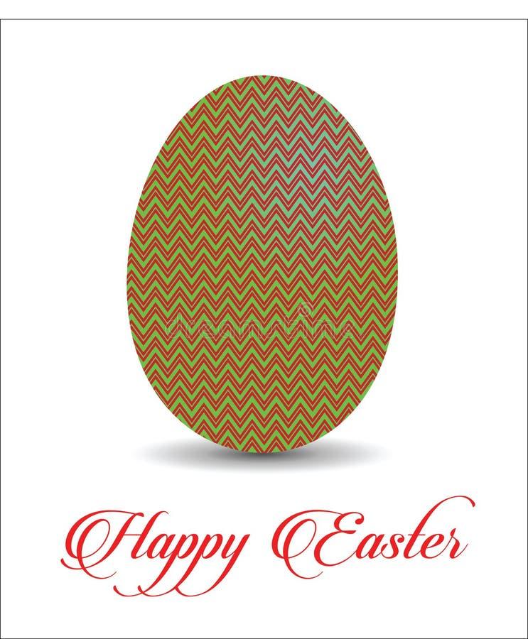 Teste padrão do ovo da páscoa ilustração stock
