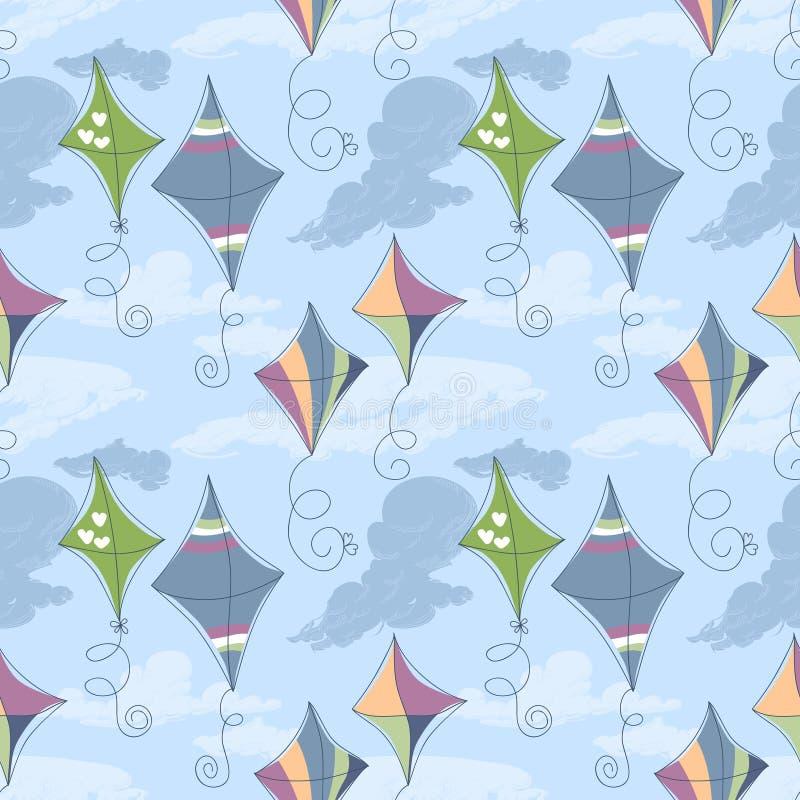 Teste padrão do papagaio ilustração stock