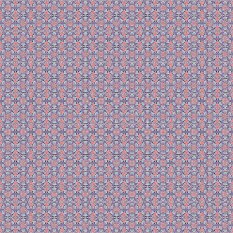 Teste padrão do papel de parede floral imagens de stock