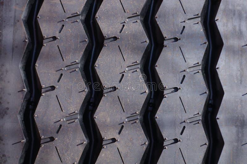 Teste padrão do pneu foto de stock