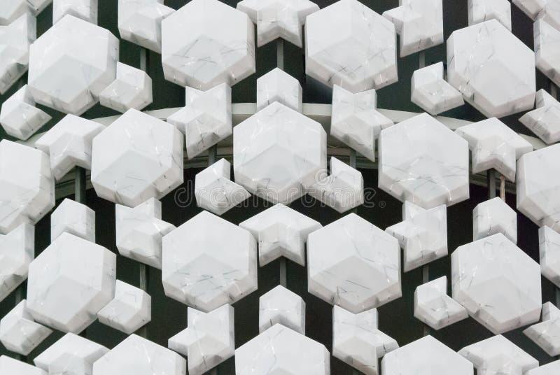 Teste padrão do polígono ilustração do vetor