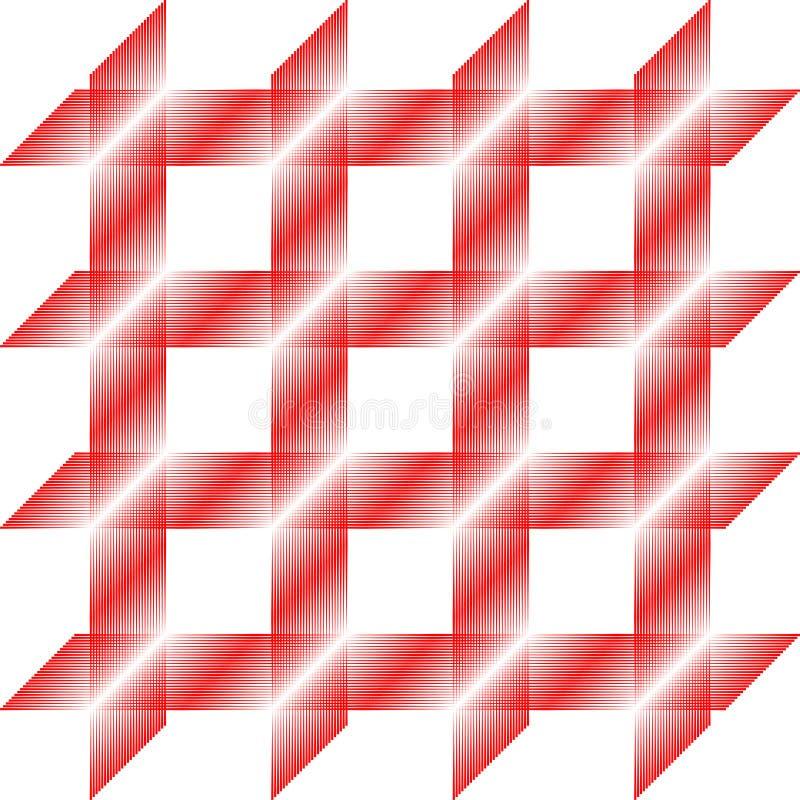 Download Teste Padrão Do Quadrado Vermelho, Telha Sem Emenda, Vetor Ilustração Stock - Ilustração de listrado, branco: 12806420
