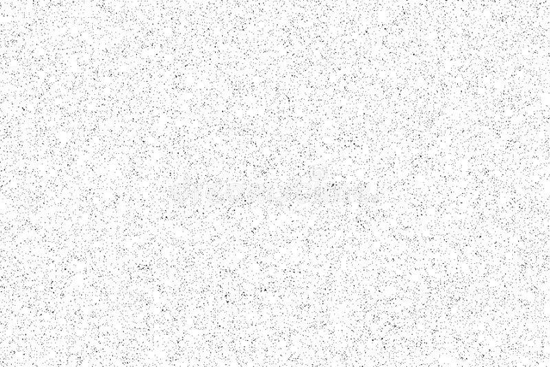 Teste padrão do ruído Textura sem emenda do grunge Livro Branco ilustração royalty free