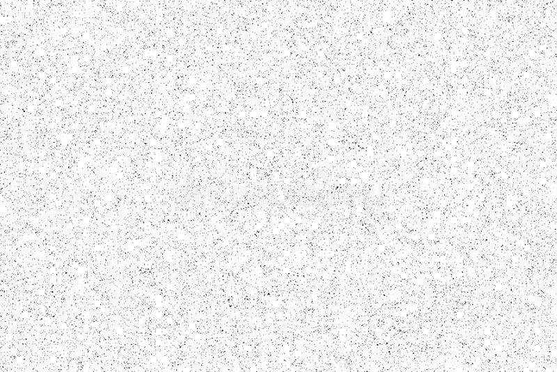 Teste padrão do ruído Textura sem emenda do grunge Livro Branco Vetor ilustração do vetor
