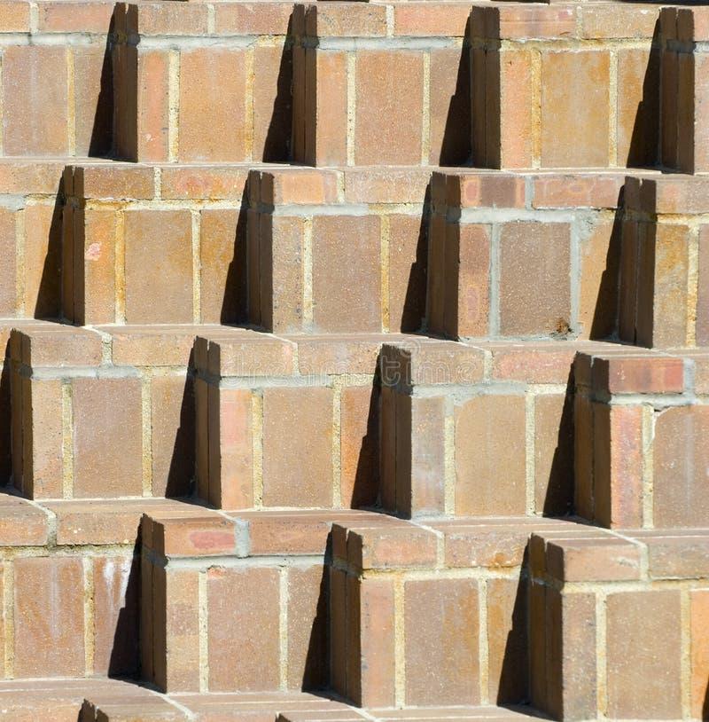 Teste padrão do tijolo imagens de stock