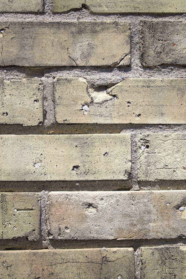 Teste padrão do tijolo foto de stock