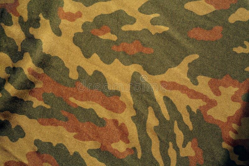 Teste padrão do uniforme militar ilustração stock
