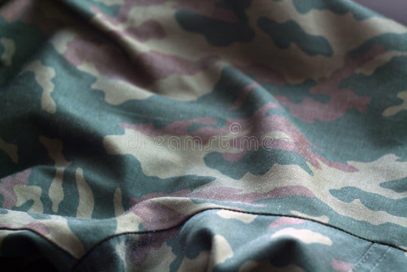 Teste padrão do uniforme militar com efeito do borrão ilustração royalty free