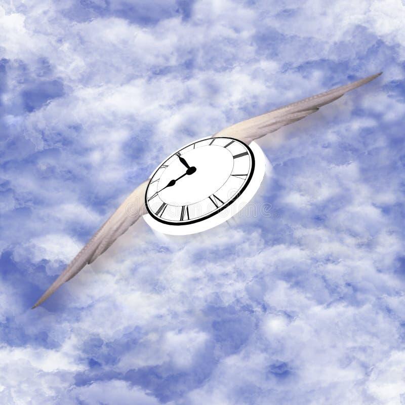 Teste padrão do vôo do tempo imagem de stock royalty free