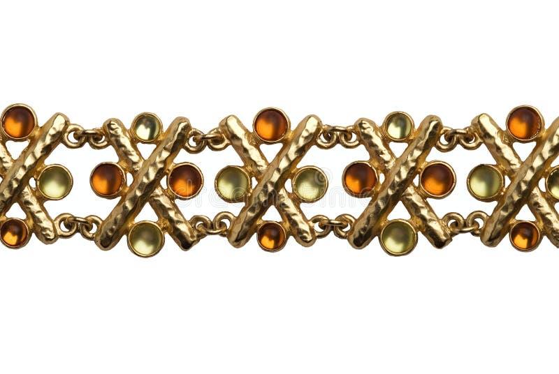 Teste padrão elegante do bracelete foto de stock royalty free