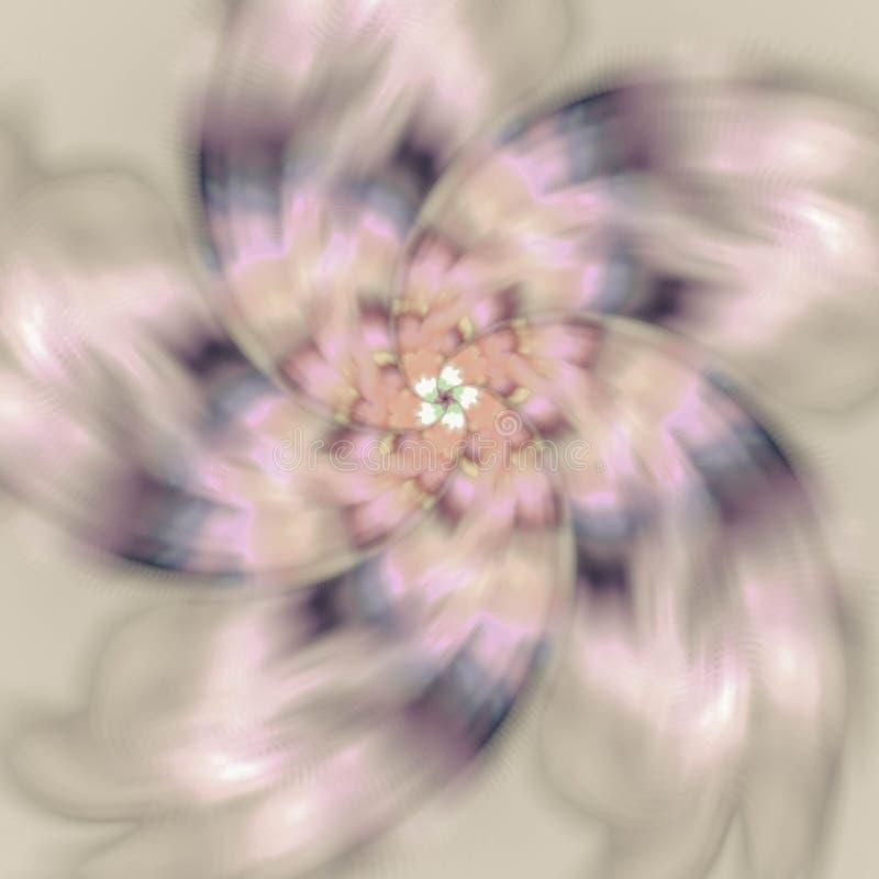 Teste padrão espiral bonito Fundo abstrato com e geométrico foto de stock royalty free