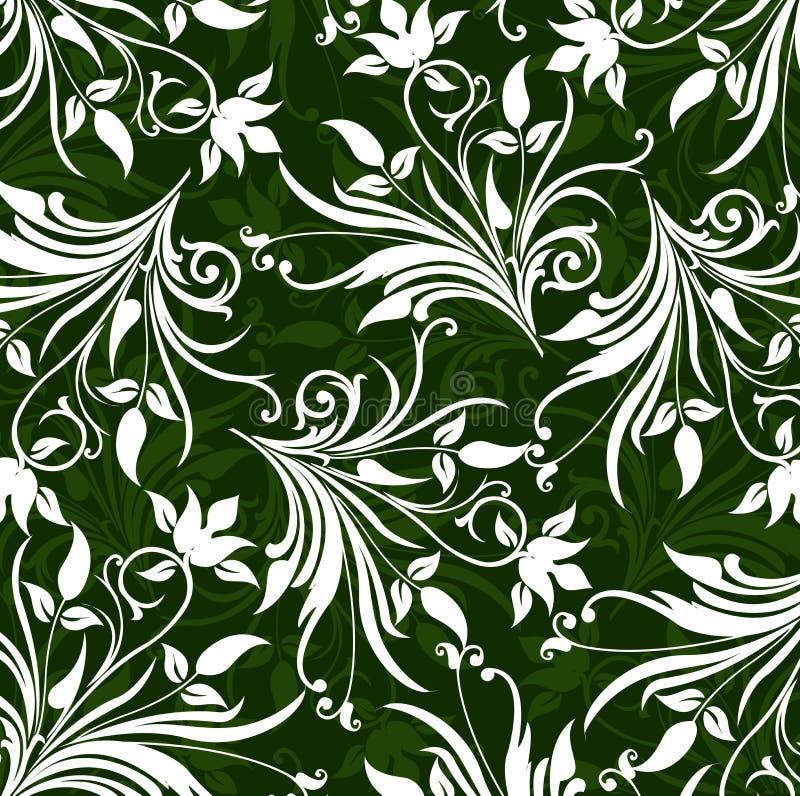Teste padrão floral,   ilustração stock