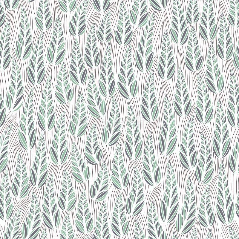 Teste padrão floral abstrato