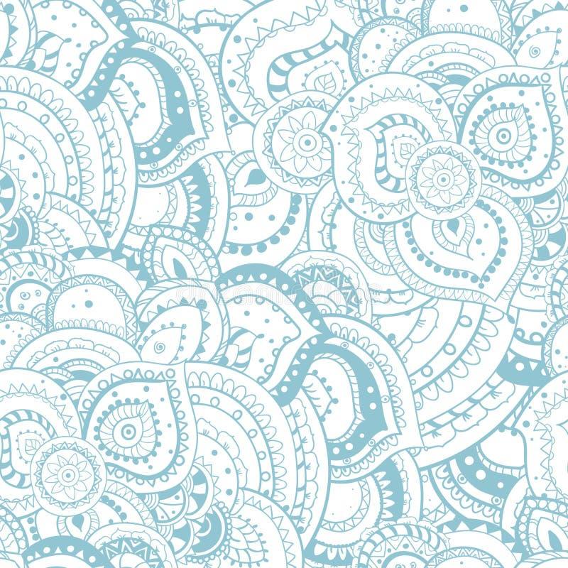 Teste padrão floral abstrato sem emenda do tema do verão foto de stock