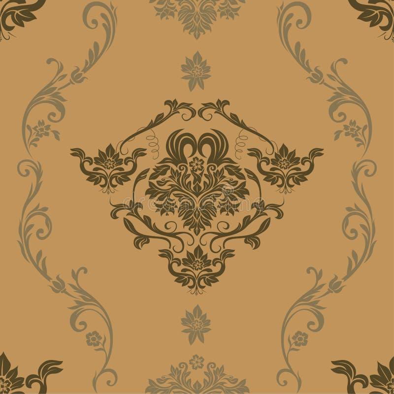 teste padrão floral colorido 3 ilustração do vetor