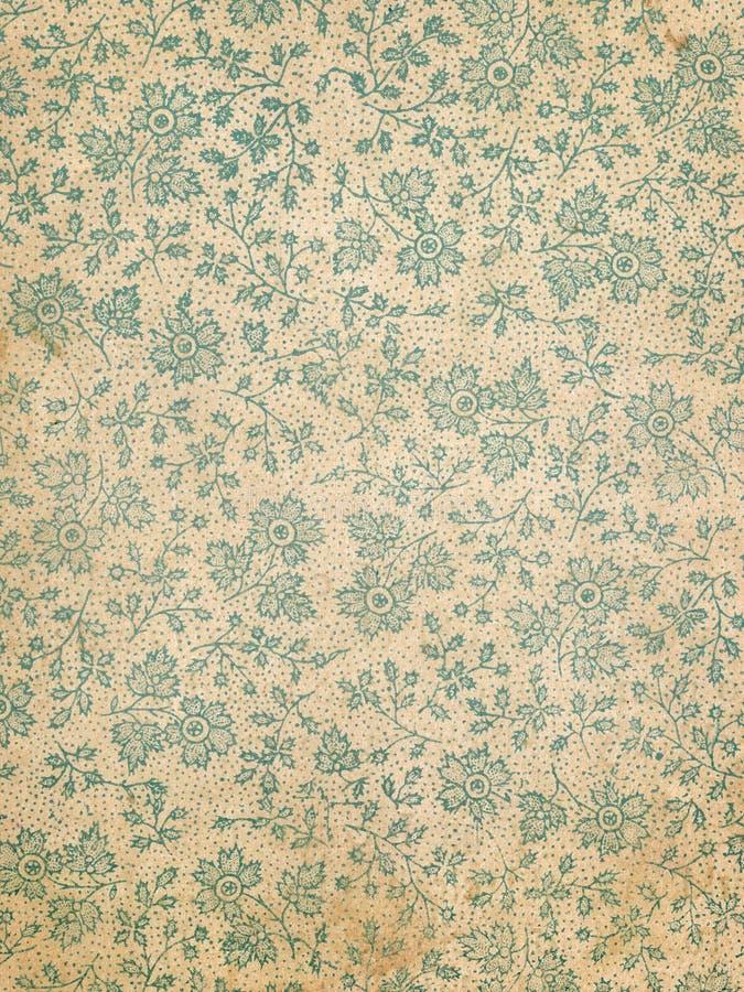Teste padrão floral de Grunge ilustração do vetor