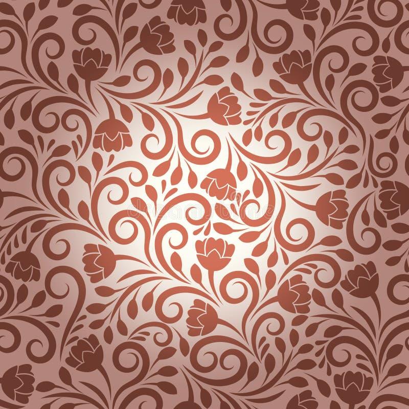 Teste padrão floral do vetor sem emenda ilustração do vetor