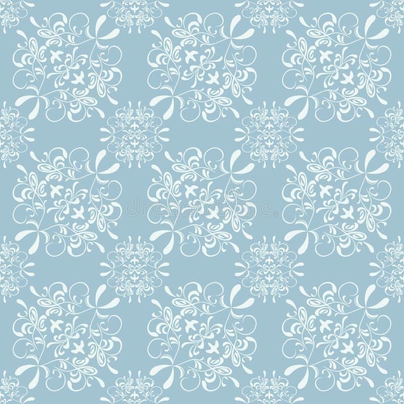 Teste padrão floral sem emenda abstrato ilustração stock