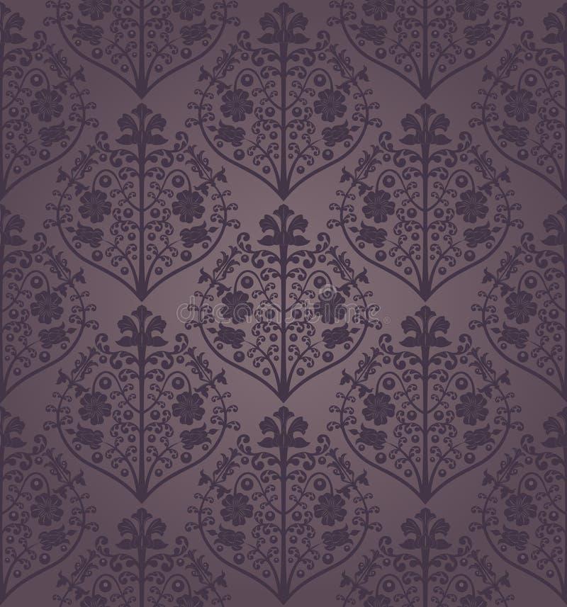 Teste padrão floral sem emenda do vetor. ilustração stock