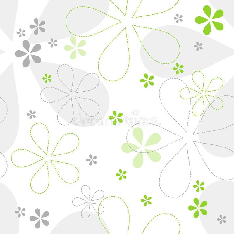 Teste padrão floral sem emenda do vetor ilustração stock