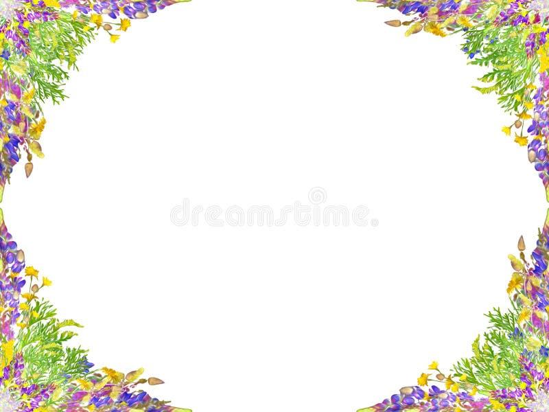 Teste padrão floral sem emenda estilizado fotografia de stock royalty free