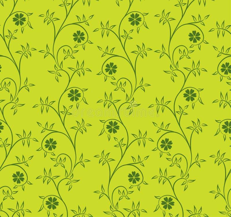 Teste padrão floral, vetor ilustração do vetor