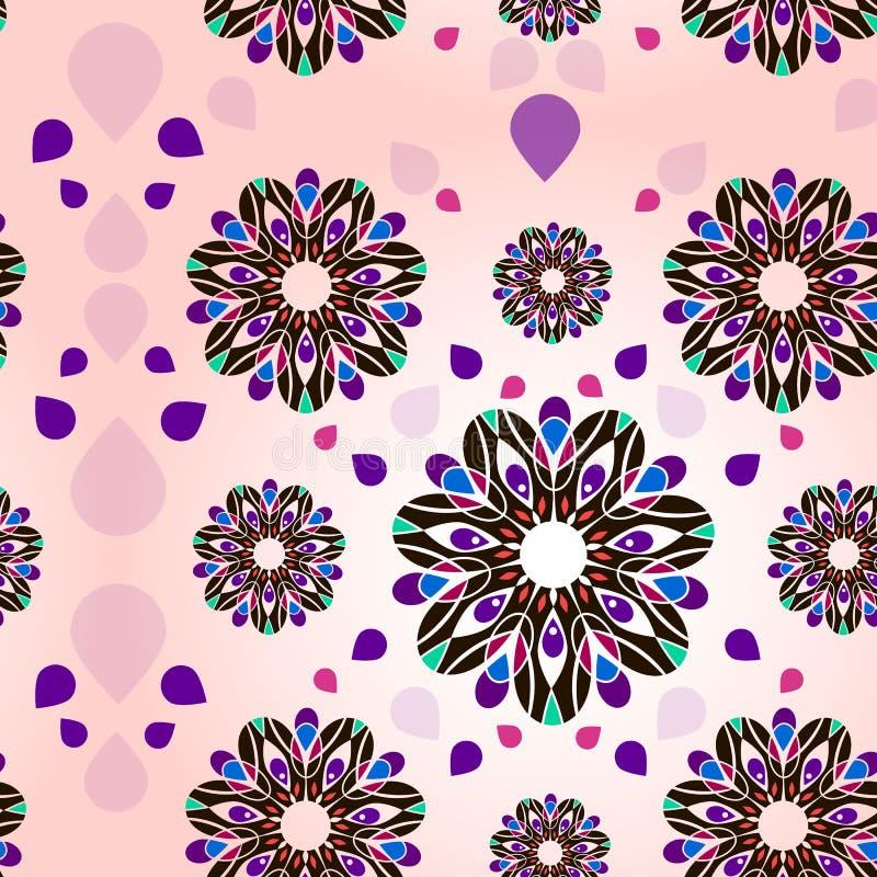 Teste padrão flowers fotos de stock