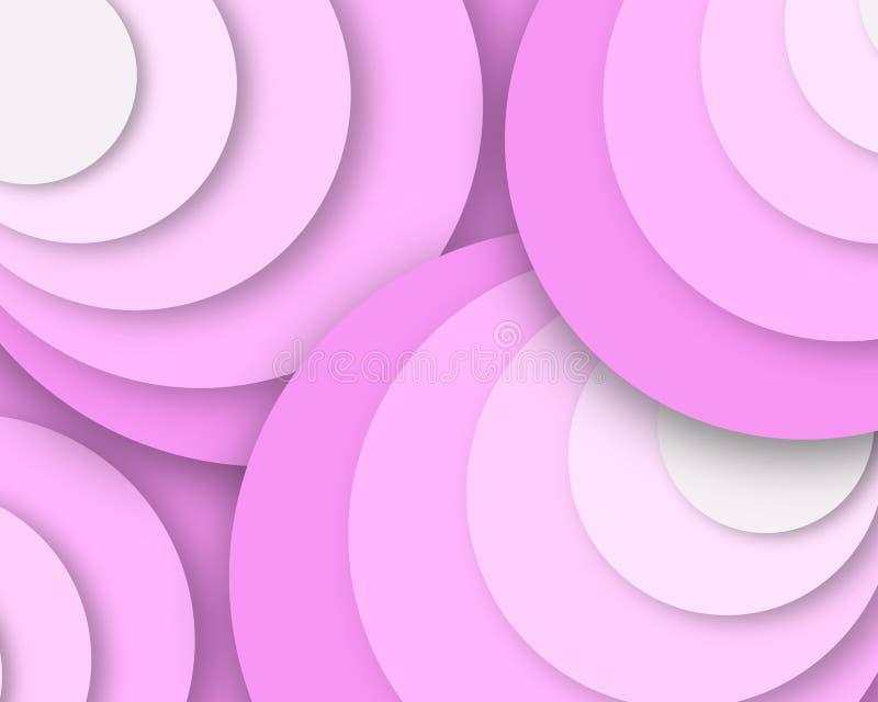 Teste padrão fresco cor-de-rosa das bolhas, imagem super do negócio da qualidade ilustração do vetor