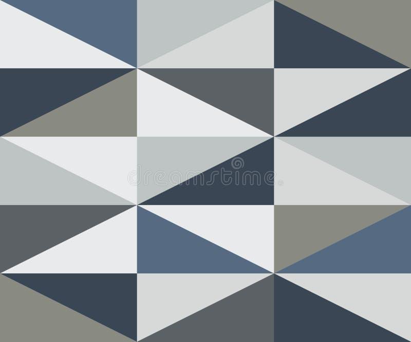 Teste padrão frio das cores do rombo do sumário ilustração do vetor