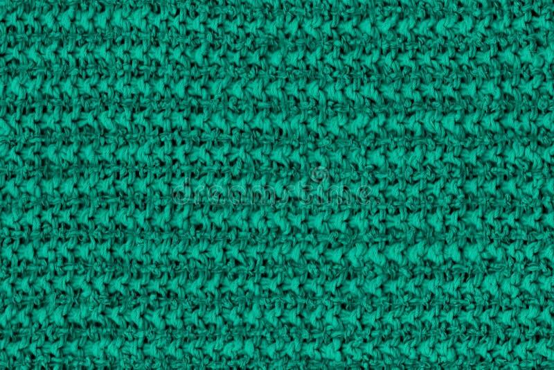 Teste padrão gasto criativo verde do pano de algodão duro que pode ser usado como a textura ou o fundo imagens de stock