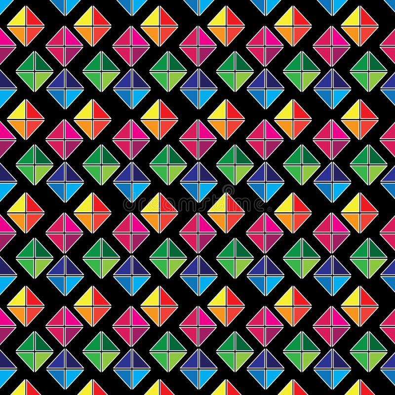 Download Teste padrão geométrico ilustração stock. Ilustração de arte - 65581711