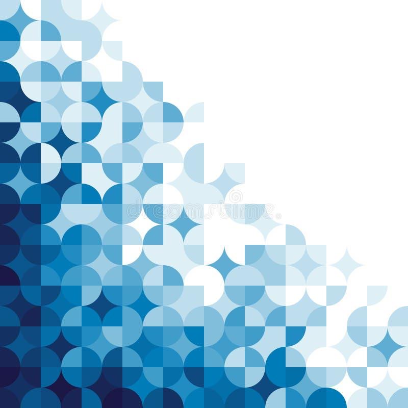 Teste padrão geométrico abstrato. ilustração stock