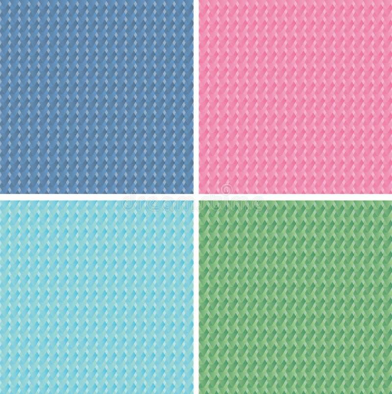 Teste padrão geométrico abstrato ilustração royalty free