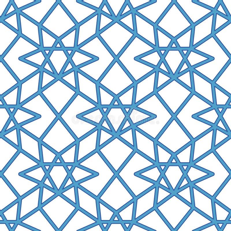 Teste padrão geométrico abstrato com cruzamento de linhas retas finas E ilustração royalty free