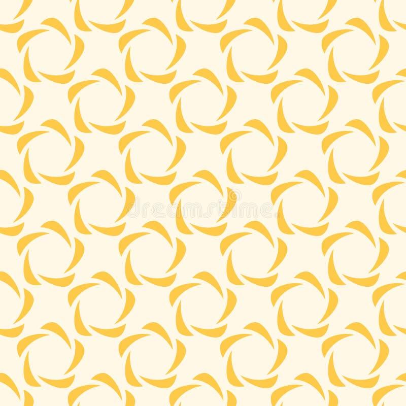 Teste padrão geométrico abstrato da cor das formas redondas ilustração do vetor