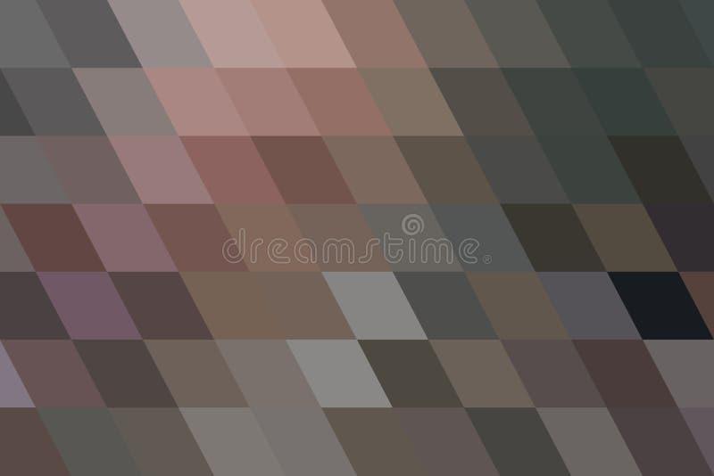 Teste padrão geométrico abstrato da tira do triângulo do fundo para o projeto Textura, estilo, decoração & forma ilustração do vetor