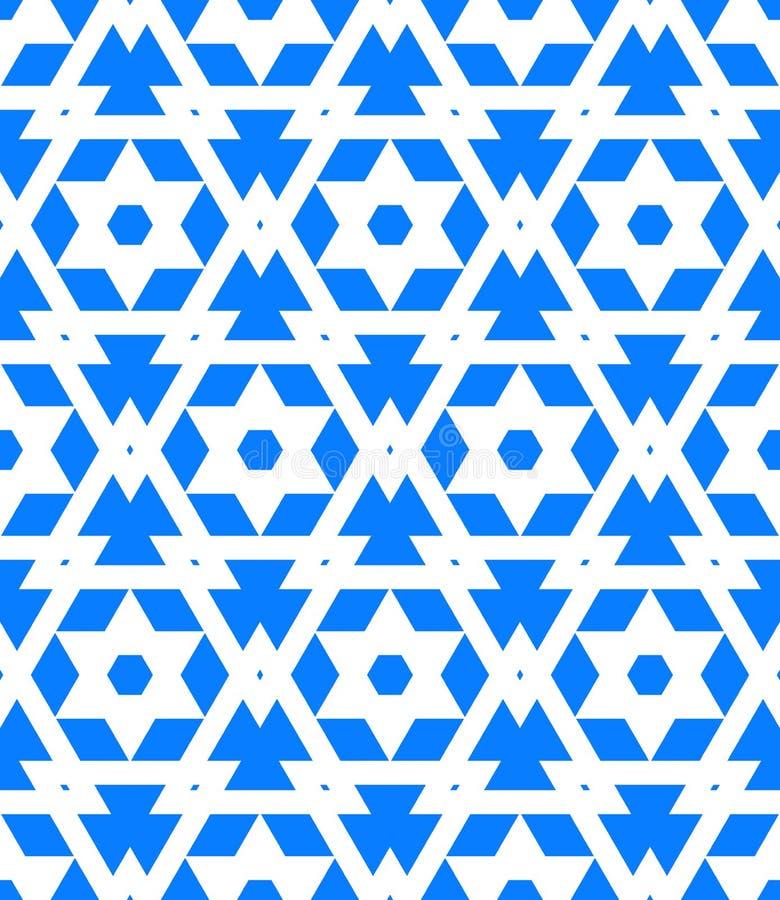 Teste padrão geométrico abstrato do vetor ilustração do vetor