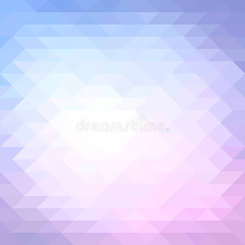 Teste padrão geométrico colorido. Ilustração do vetor. ilustração royalty free
