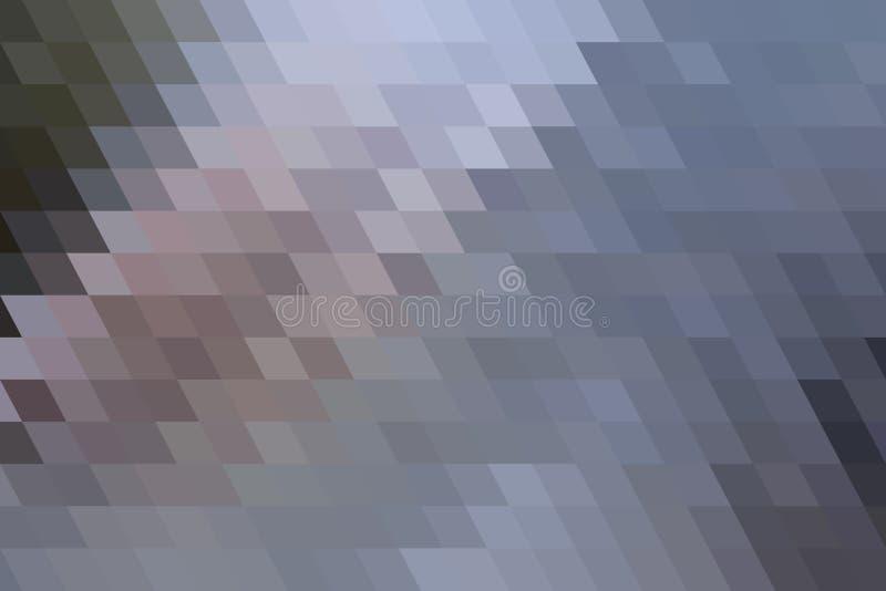 Teste padrão geométrico colorido sumário da tira do triângulo Ilustração, tampa, fundo & conceito ilustração stock