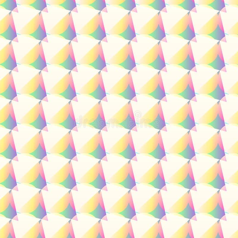 Teste padrão geométrico com círculos ilustração royalty free