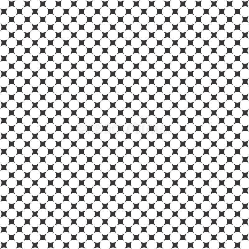 Teste padrão geométrico da onda sem emenda preto e branco Decoração, bonita ilustração do vetor