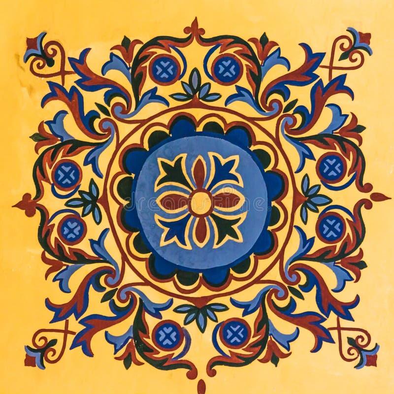 Teste padrão geométrico do otomano fotos de stock royalty free
