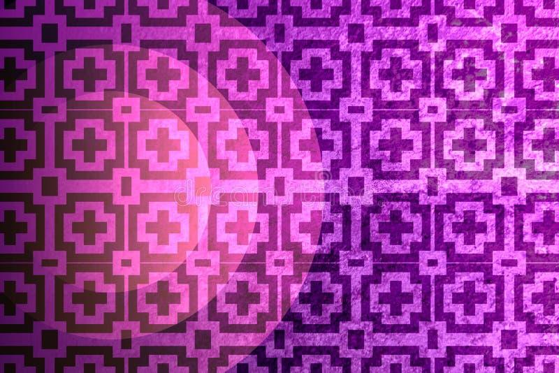 Teste padrão geométrico e fundo abstrato das texturas