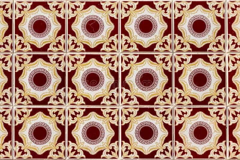 Teste padrão geométrico exótico da telha imagem de stock